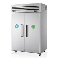 Commercial Fridge Freezer Combo