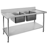 Commercial Double Sinks