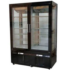 longoni-gfl7703b-double-door-gelato-fridge-freezer-display-black